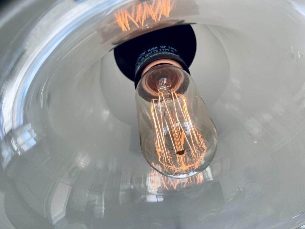 Nostalgic bulbs have a unique filament